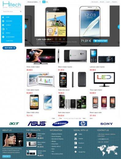 Интернет магазин SJ AppStore HiTech Joomla 2.5.7 + QS