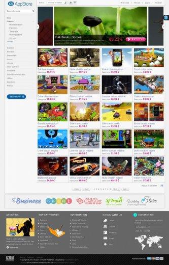 Магазин электронной коммерции SJ AppStore Joomla (2.5.7 + QS)