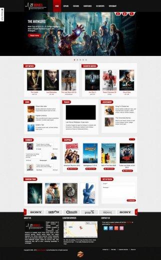 Онлайн кинотеатр на Joomla 2.5.8 - ZT Movie + QS